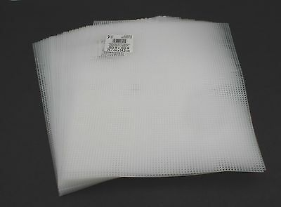 LOT 7-Mesh Plastic Canvas- 50 Sheets- 10.5 x 13.5 Inch Darice New
