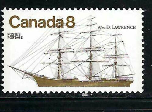 CANADA - SCOTT 670 - VFNH -  COASTAL VESSELS  - 1975