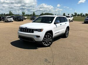 2018 Jeep Grand Cherokee Limited w NAV, SUNROOF & MORE!!
