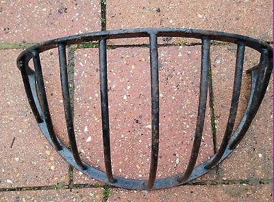 Vintage Metal Hay Rack Hanging Basket Wall  Garden Planter