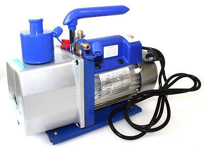 Single Stage 7 Cfm 12 Hp Rotary Vane Deep Vacuum Pump 110v 60hz Hvac Ac Tool