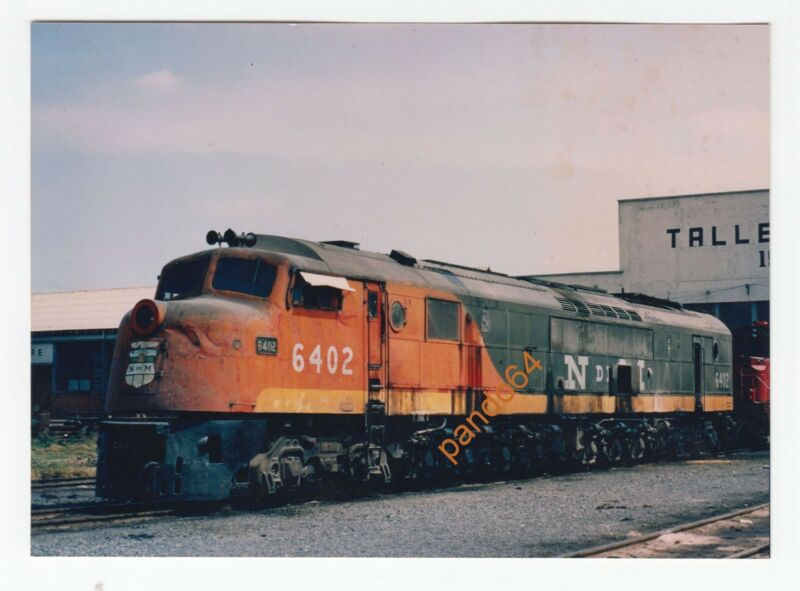 N de M NEW MEXICO #6402 Diesel Locomotive Original Colored Photograph  TP12