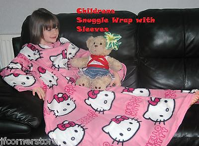 LUXURY  HELLO KITTY  FLEECE WITH ARMS--BRAND NEWJANUARY CLEARANCE - Hello Kitty Clearance Items