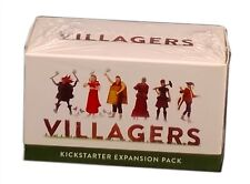 Sinister Fish Games, Villagers Card Game Kickstarter Expansion Pack, New