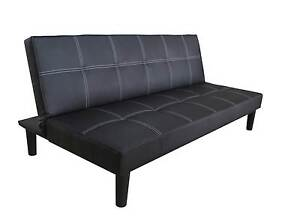 【Brand New】PU Leather Sofa Bed Springvale Greater Dandenong Preview