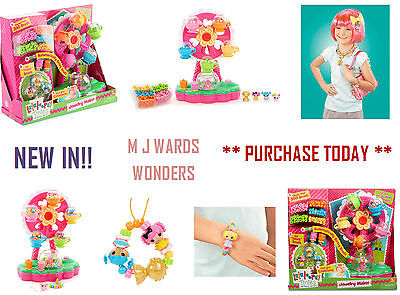 Lalaloopsy Tinies 537809 - 2-in-1 Jewelry Maker and Playset MaFerris Wheel