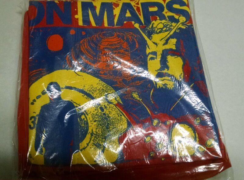 "Flaming Lips ""Christmas on Mars"" promotional T-Shirt- XL"