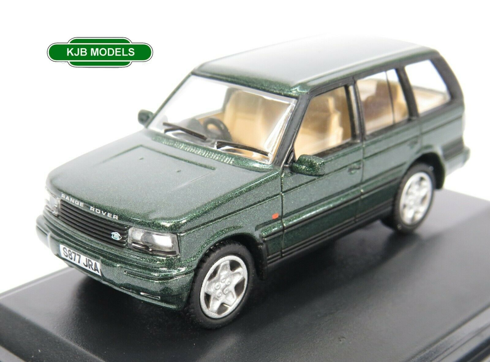 BNIB OO GAUGE OXFORD DIECAST 1:76 76P38003 Range Rover P38 Epsom Green