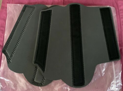 NEW PELHAM ASCOT EVENT BOOT LINERS #1192P NEOPRENE HIND SHOCK ABSORBERS Size M