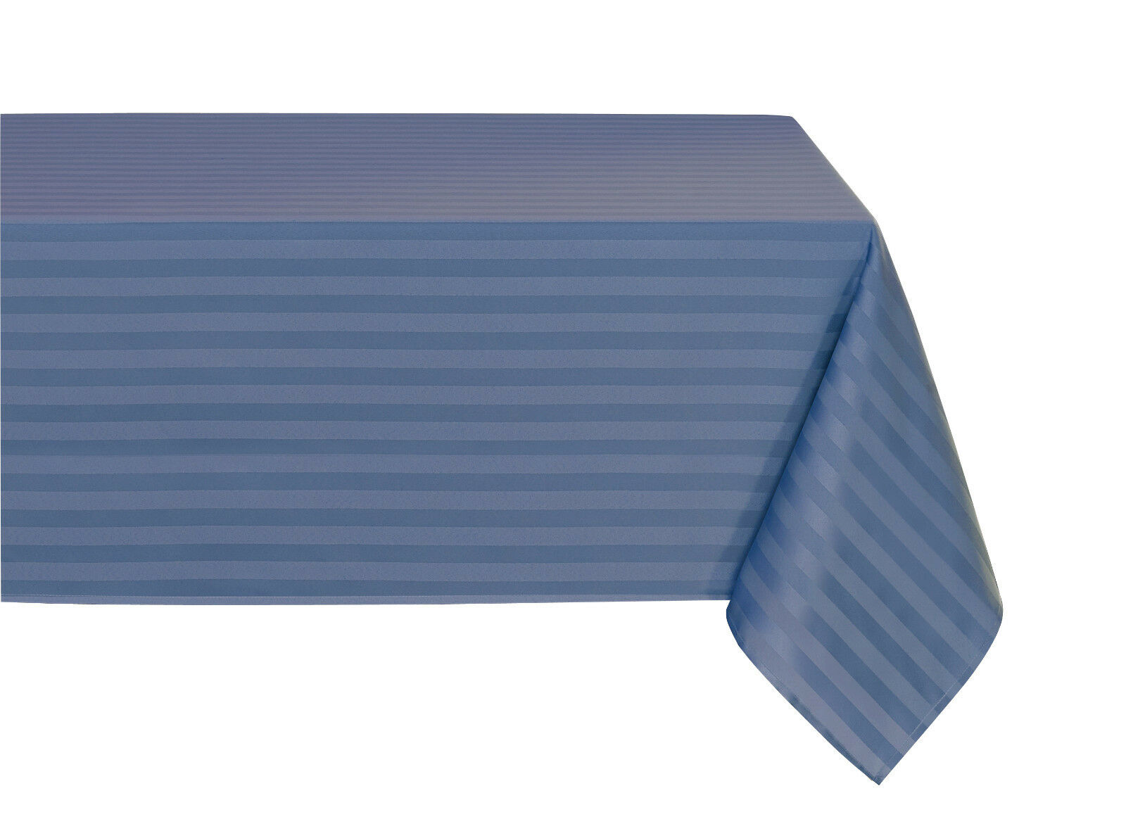 """Striped """"Spill-Proof"""" Wrinkle Free Fabric Tablecloth - Assor"""