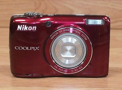 Genuine Nikon Coolpix (L26) 16.1 MP Compact Digital Camera with 3