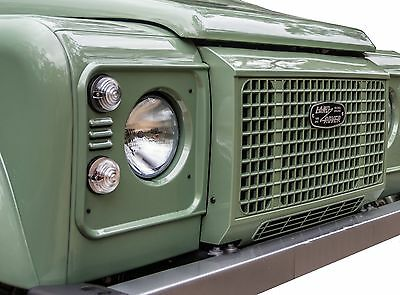 "unpainted ""Heritage edition"" style front grille for Land Rover Defender 90 110"
