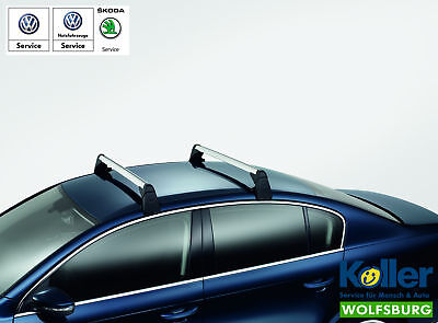 Original Volkswagen Grundträger Tragstäbe Gepäckträger Dachträger Passat 3C gebraucht kaufen  Versand nach Austria