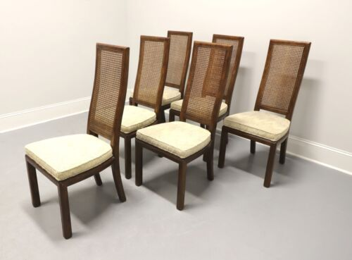 HENREDON Scene One Campaign Style Dining Side Chairs - Set of 6