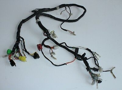 Main Harness Connector Orig. Suzuki GS500 GM51B 1990-1992 Electric Wiring Loom