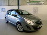 VAUXHALL CORSA 1.2i (85ps) SE 5DR,MET SILVER LAKE,LOW INS GRP 6,IDEAL FIRST CAR