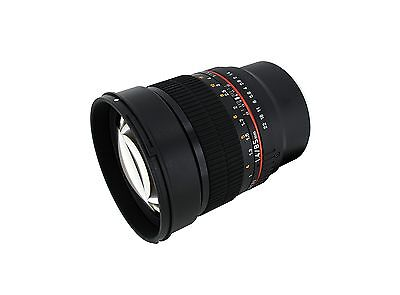 Rokinon 85mm F1.4 Full Frame Prime Lens for Sony E-Mount (NEX) - Model 85M-E