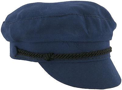 """1964 Beatles, """"The Ringo Cap"""", Ringo Starr Blue Wool Size Small, Original Cap NM"""