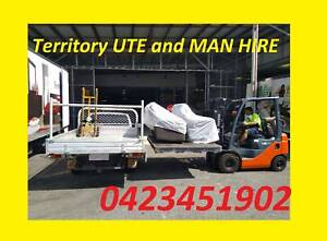 UTE and TRUCK HIRE / Furniture Delivery / house move / removal