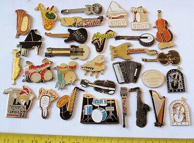 30 PIN'S PIN MUSIQUE INSTRUMENT MUSIC SONY ZAMAC comprar usado  Enviando para Brazil