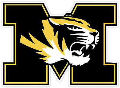 University of Missouri Tigers Vinyl Sticker Decal *SIZES* Cornhole Truck Wall -