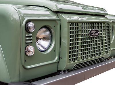 """Unpainted """"Heritage edition"""" style front grille for Land Rover Defender 90 110"""