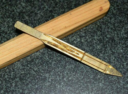 Brass Double Tongue Dan Moi Jaw Harp Music Instrument W Wooden Box From Vietnam