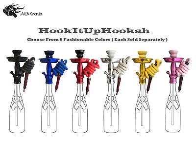 HookItUpHookah Universal Bottle Hookah Stem Kit Fits Most Bottles .750 - 1.75L