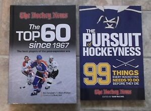 The Hockey News Book + Persuit of Hockeyness Book