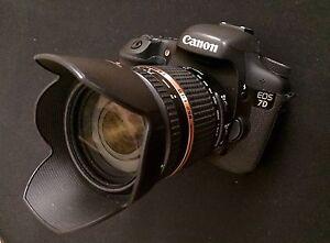 Canon EOS 7D w/ Tamron 18-270mm 3.5 zoom lens