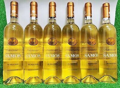 (9,98€/l) 6x Kourtakis Samos Muscat 0,75l Likörwein süß 15% Wein a. Griechenland