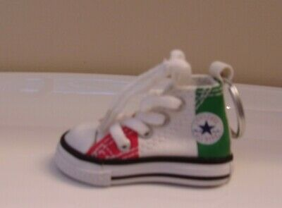 Converse Chuck Taylor All Star High Top Shoe Key Ring MULTI-COLOR Brand New!
