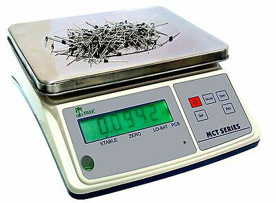 Tree Mct 33 Parts Counting Digital Bench Scale 33lb X 0.001lb W 10v Ac Adapter