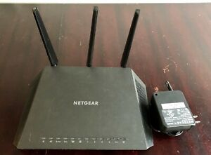 NETGEAR Nighthawk AC1750 Smart Wi-Fi Dual Band Gigabit Router