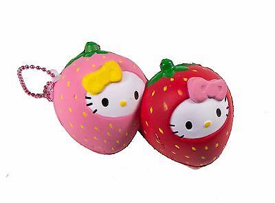 Sanrio Hello Kitty Fruits Market Squishy Hello Kitty Twin Strawberry Costume - Sanrio Costumes
