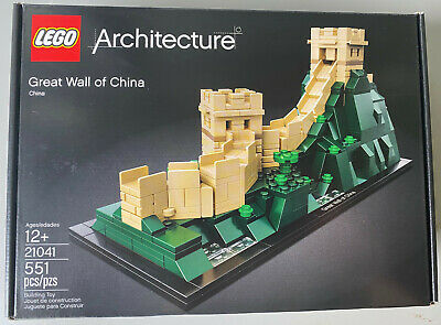 LEGO Architecture 21041 GREAT WALL OF CHINA Landmark Series * New * Retired Set