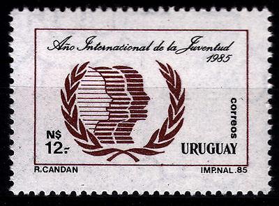 Uruguay 1715 **, Jahr der Jugend 1985