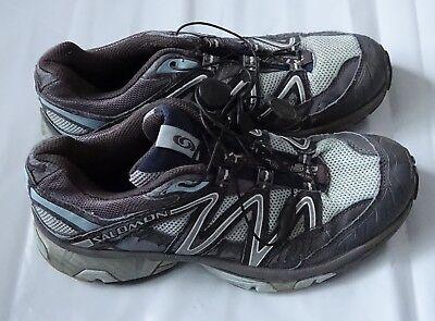 (USED Salomon Men's XT WINGS 2 Trail Runner gray sneakers, Size 6.5)