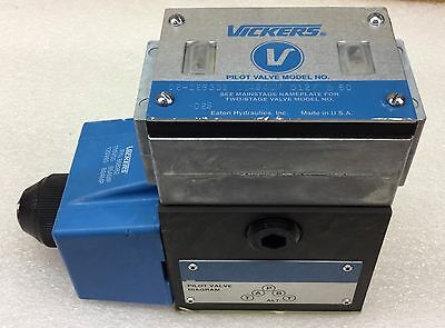 Vickers Dg4s4lw-012f-b-60 Directional Control Valve 02-126339 New No Box