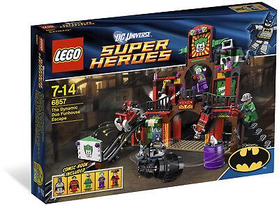 Lego 6857 Exclusive set The Dynamic Duo Funhouse Escape (6857)