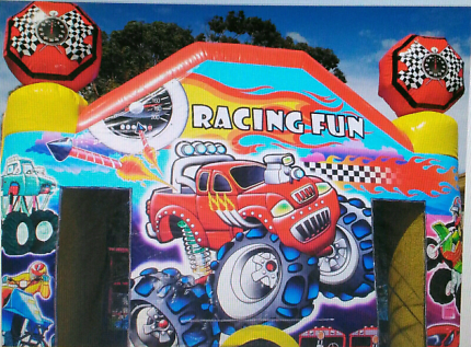 Racing Fun - Commercial Grade Jumping Castle