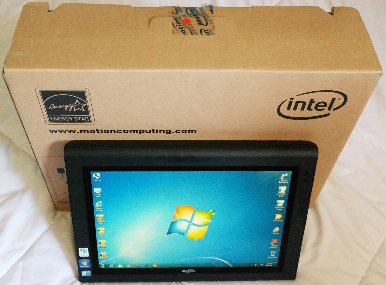 Motion Computing J3500 Core i7 1.47GHz-(2.53G) 8GB 256GB SSD View Anywhere Gobi