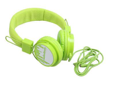 Nickelodeon NIC-1773 Kopfhörer für Kinder grün Kinderkopfhörer Headphones Kids