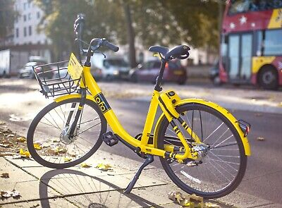 OFO City Bike Bicycle NEW Complete with basket. UK BUYERS ONLY