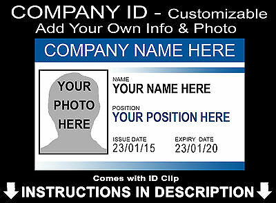 Make Your Own Business Staff Personalised Add Name + Photo Prop Halloween](Halloween Your Photo)