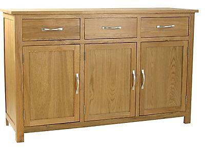 Carne Large Oak Sideboard / Solid Oak Cupboard / Quality Handcrafted Sideboard