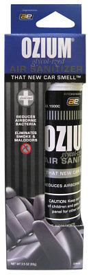 Ozium Smoke & Odor Eliminator Air Sanitizer / Freshener 3.5oz NEW CAR