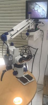 New 3 Step Led Ophthalmic Surgical Operating Portable Wall Mount Microscope