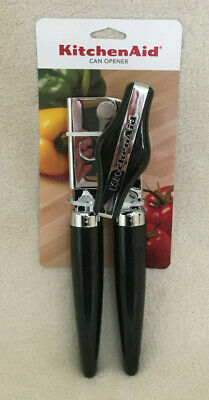 Genuine Kitchen Aid Can Opener Black Kitchen Utensil - Brand New