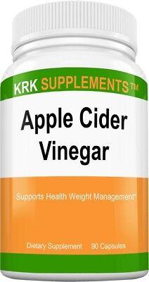 Apple Cider Vinegar 1000mg per serving 90 Capsules Apple Cider Vinegar